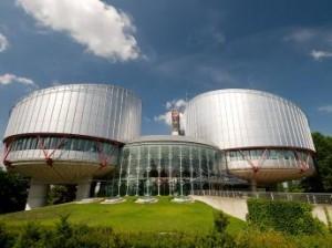 Siège de la Cour Européenne des Droits de l'Homme.